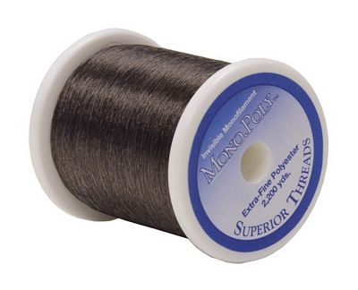 Superior Smoke MonoPoly Thread 2200yd - Stitch Morgantown