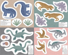 Cut Out Dinos Panel by Lewis & Irene Kimmeridge Bay