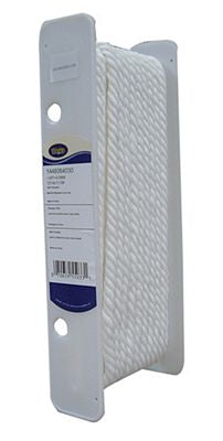 Wrights Polyester Cord 3/8 inch White - Stitch Morgantown