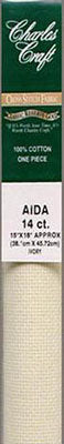 14 Ct. Ivory Aida Cloth - Stitch Morgantown