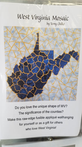 WV Mosaic Quilt Pattern - Stitch Morgantown