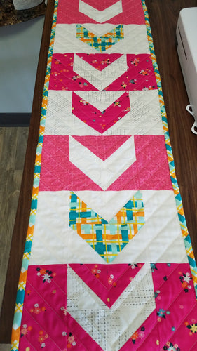 Mod Quilted Table Runner - Stitch Morgantown