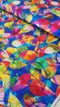 Wild Birds Leaf Burst Multi Fabric