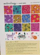 Astrology Fat Quarter Flat Stack Dark Colorway from Paintbrush Studio