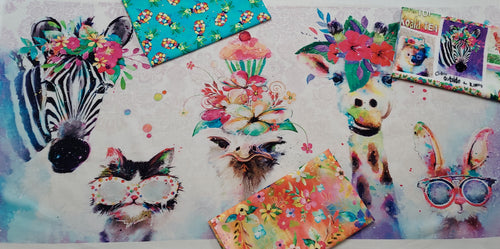 Party Animals 1/2 yard Bundle