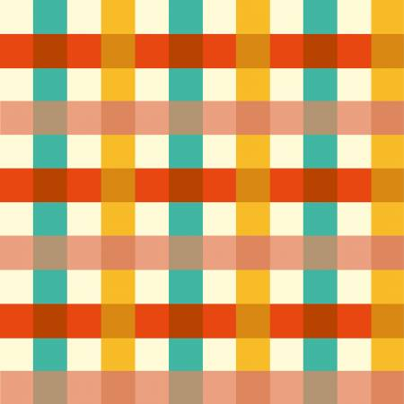 Multi Plaid by Heather Ross for Windham Cotton Fabric