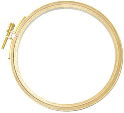 Wooden Embroidery Hoop 6 Inch - Stitch Morgantown