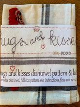 Hugs and Kisses Dishtowel Kit