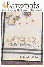 Happy Halloween Dishtowel Kit