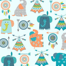 Boho Baby Tossed Motifs
