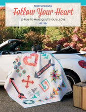 Follow Your Heart Quilt Pattern Book