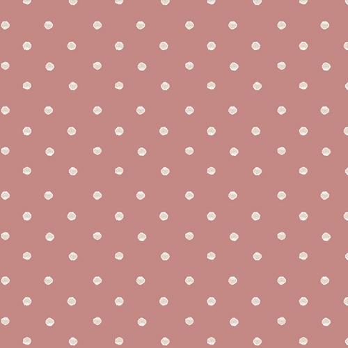 Allium Specks Rose Earthen Collection cotton quilt fabric by Art Gallery Fabrics