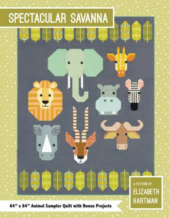 Spectacular Savanna Pattern by Elizabeth Hartman