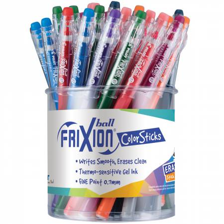 Frixion Fine Point 0.7mm Ball Point Color Stick Pens