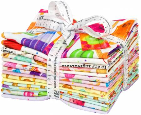 Sweet Tooth Fat Quarter Bundle 15 pieces