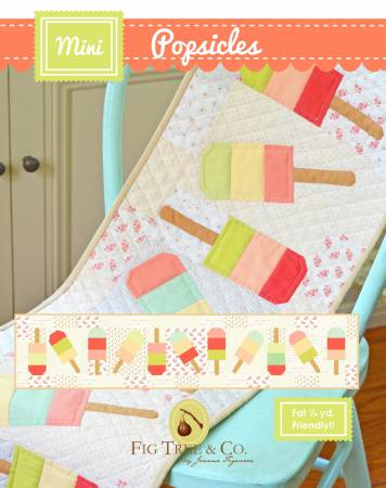 Popsicle Table Runner Virtual 3-part Class