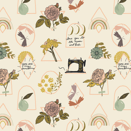 Her & History Elsie's Sunshine by Art Gallery Fabrics