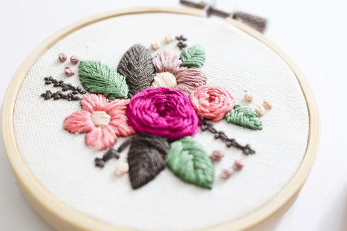 Beginner Hand Embroidery Class Sign Up