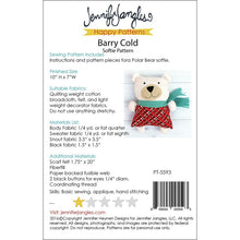 Barry Cold Softie Pattern - Stitch Morgantown