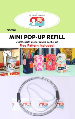 Mini Pop Up Refill by The Fat Quarter Gypsy - Stitch Morgantown