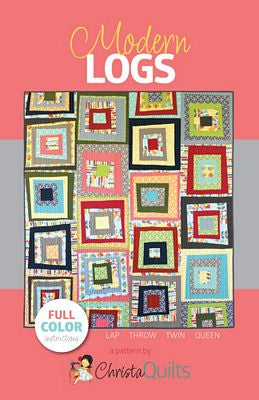Modern Logs Quilt Pattern - Stitch Morgantown