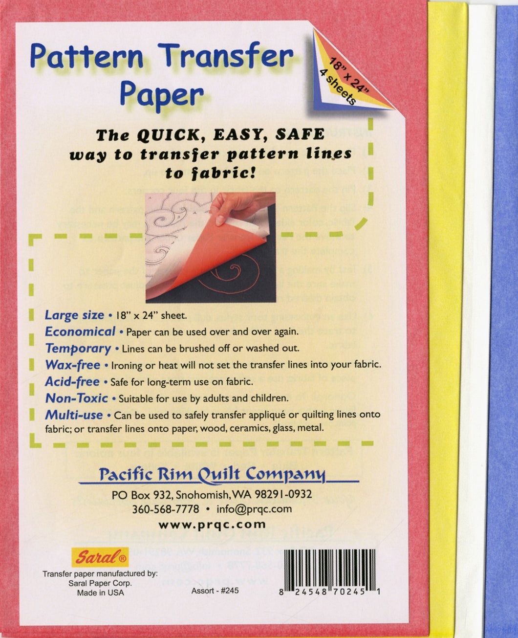 Pattern Transfer Paper Variety Pack