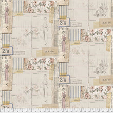 Vogue Multi from Memoranda III by Tim Holtz for FreeSpirit Fabrics Cotton Quilting Fabric
