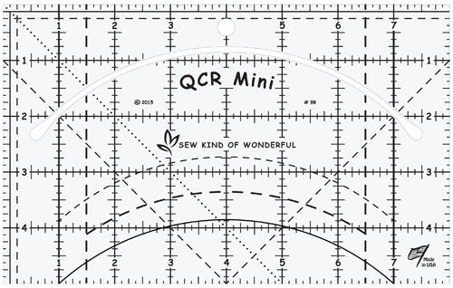 Quick Curve Ruler Mini/QCR Mini - Stitch Morgantown