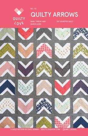 Quilty Love Quilty Arrows Quilt Pattern
