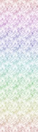 Pastel Backsplash Digital Print Hoffman Fabric