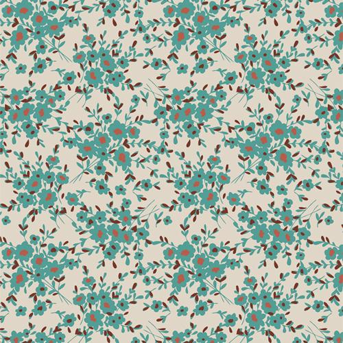 Calico Days Aqua Spirited Collection by Sharon Holland for Art Gallery Fabrics