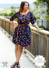 Flatter Me Frock Pattern by Sew To Grow