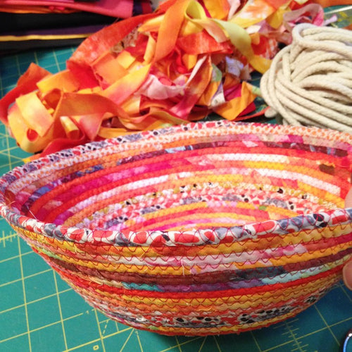 Scrappy Rope Bowl Class, Tues Oct 8th 6-9 pm