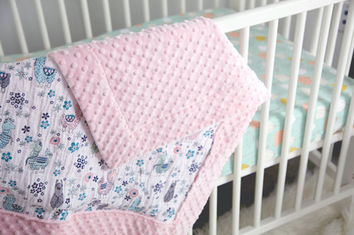 Self Binding Baby Blanket, Tues, Oct 20th 6-8pm