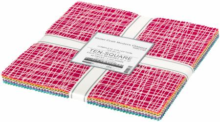 10in Squares Modern Clasiscs, 42pcs/bundle Layer Cake