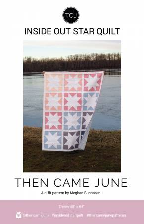 Inside Out Star Quilt Pattern by Then Came June