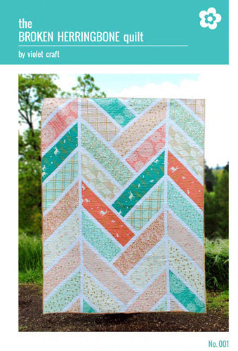 Broken Herringbnone Quilt by Violet Craft - Stitch Morgantown