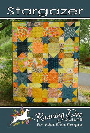 Stargazer Postcard Pattern by Villa Rosa Designs
