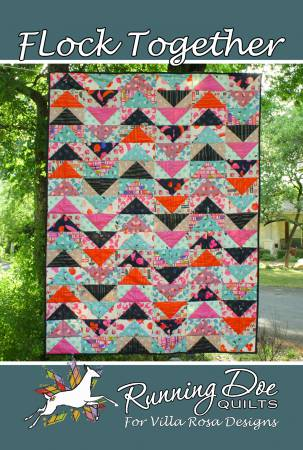 Flock Together Postcard Pattern - Stitch Morgantown