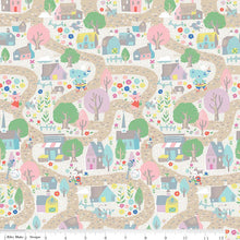 Once Upon a Rhyme Village Cream Fabric - Stitch Morgantown