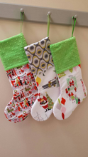 Naughty or Nice Christmas Stocking - Stitch Morgantown