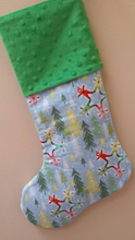 Snow Angel Christmas Stocking - Stitch Morgantown