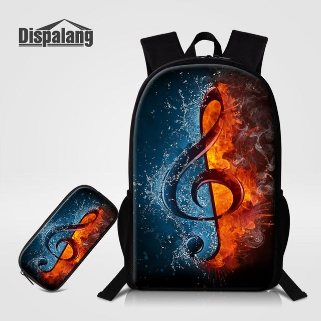 cc551dd19f3a Fun Music-Themed Backpacks - FREE Matching Pencil Case Included ...