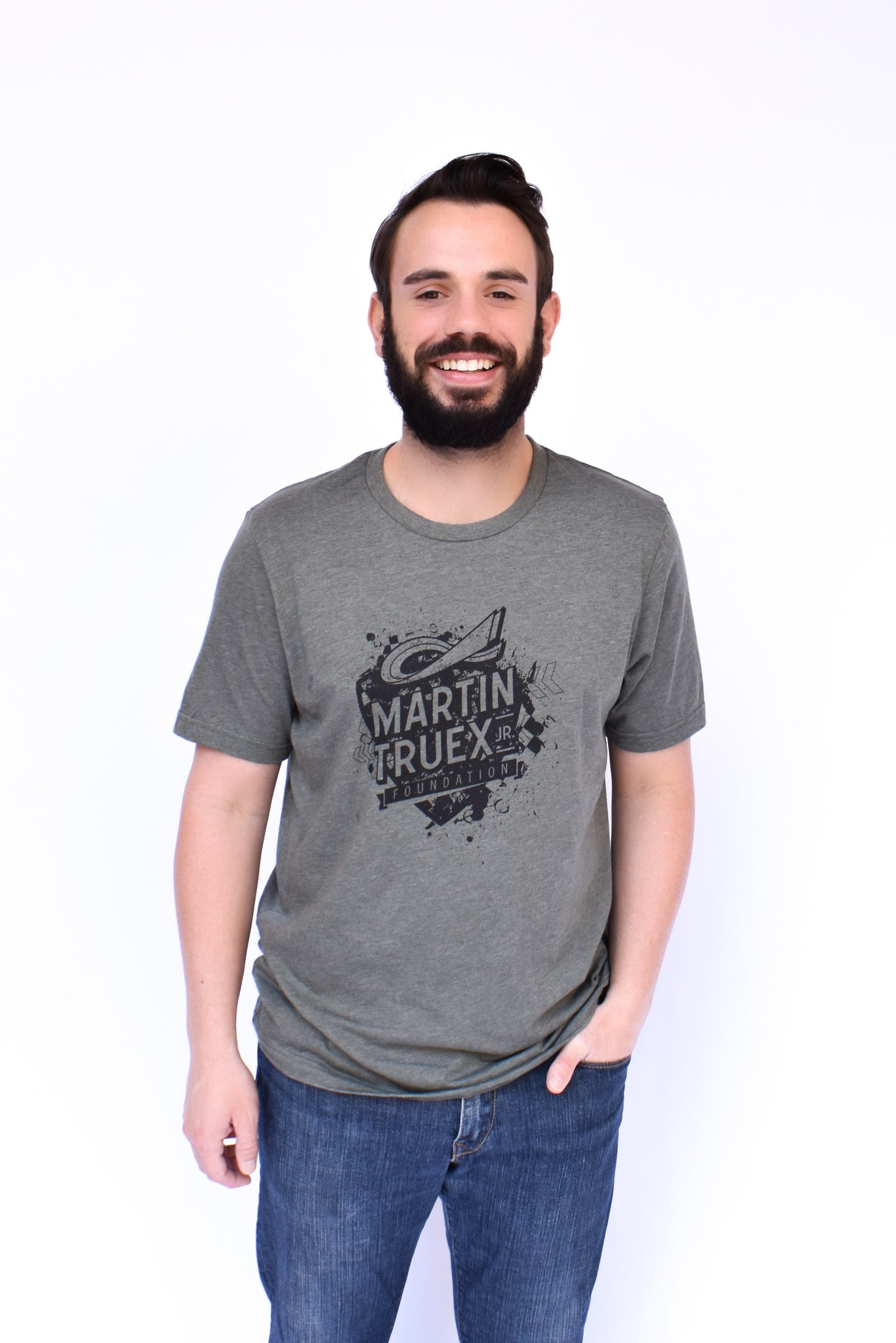 MTJ Foundation Men's Army Tee