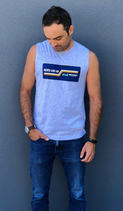 MTJ Foundation Men's Retro Muscle Tank