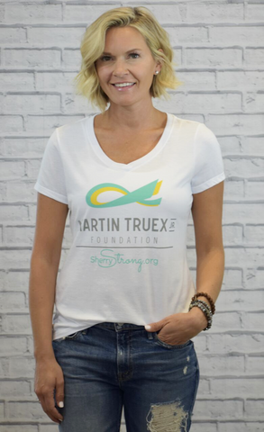 MTJ Foundation/SherryStrong Classic V-Neck Tee