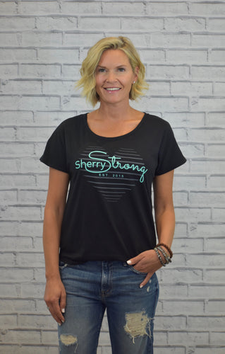 Sherry Strong Heart Strings Tee