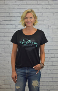 SherryStrong Heart Strings Tee