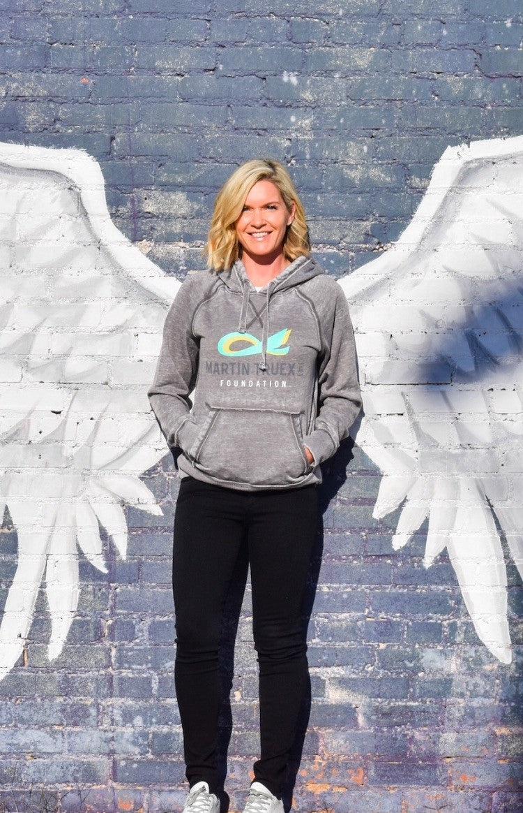 MTJ Foundation Teal & Gold Sweatshirt