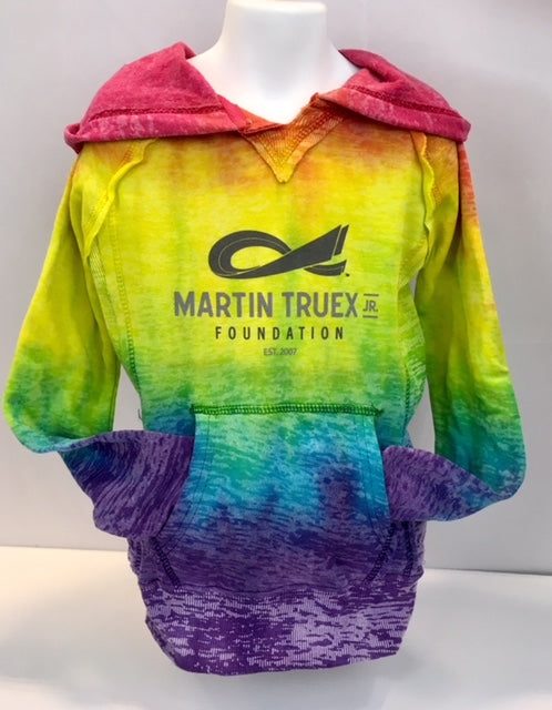 MTJ Foundation Youth Tie Dye Sweatshirt